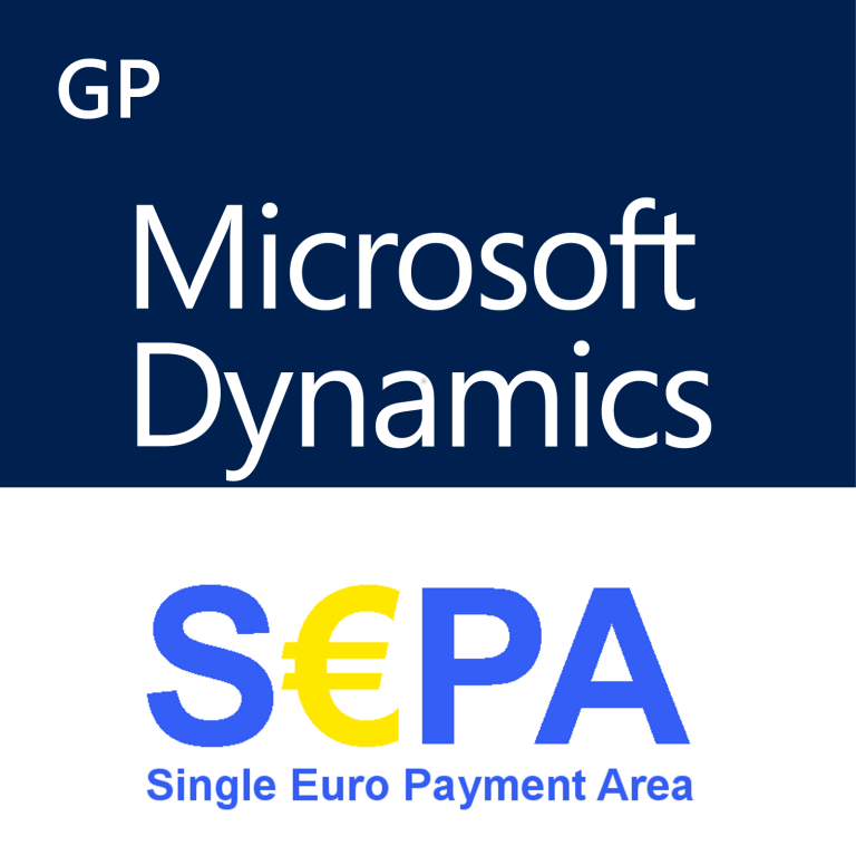 SEPA for Microsoft Dynamics GP